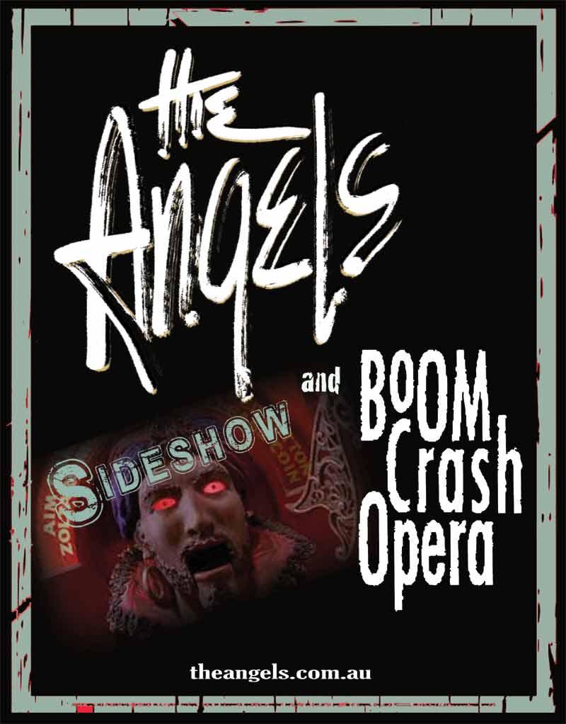 Sideshows With Boom Crash Opera