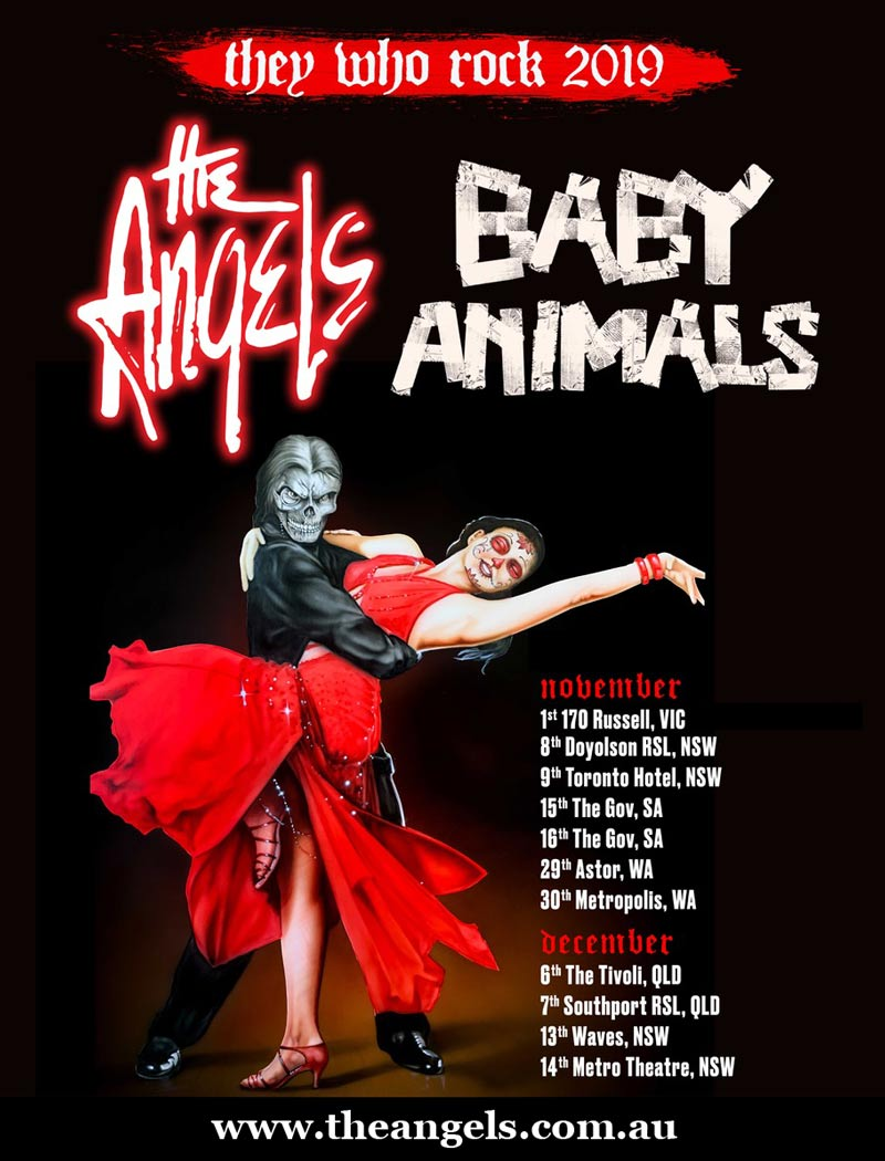 They Who Rock – The Angels & Baby Animals