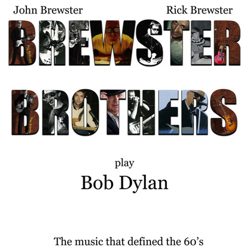 Brewster Brothers Play Bob Dylan <br/> CD – Brewster Brothers