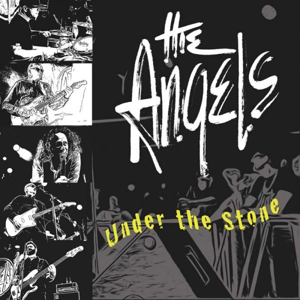 The Angels - Under The Stone - EP - Front Cover