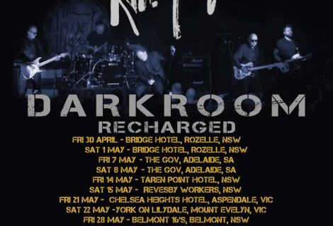 Darkroom Recharged – New Tour Dates – 2021
