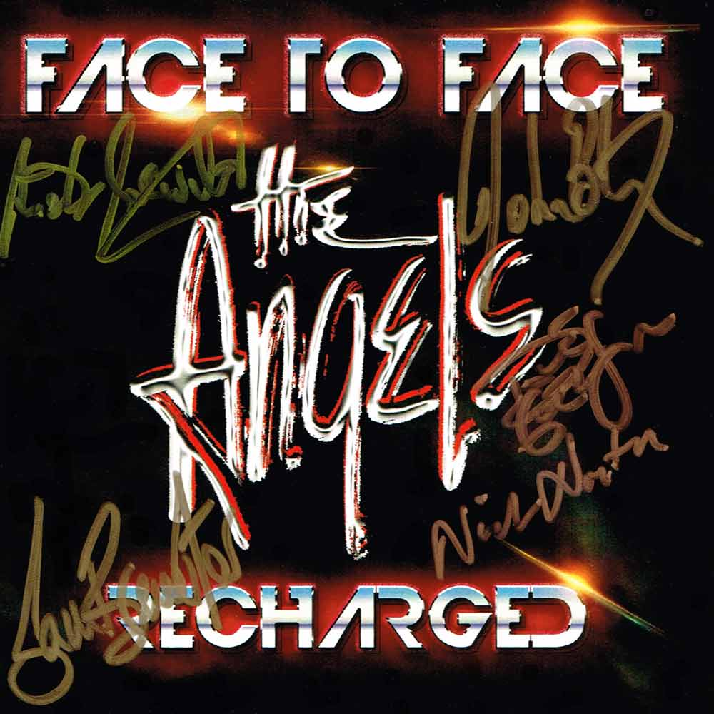 Face To Face – Recharged <br/> 2 CD Set – Signed Copy <br/> The Angels