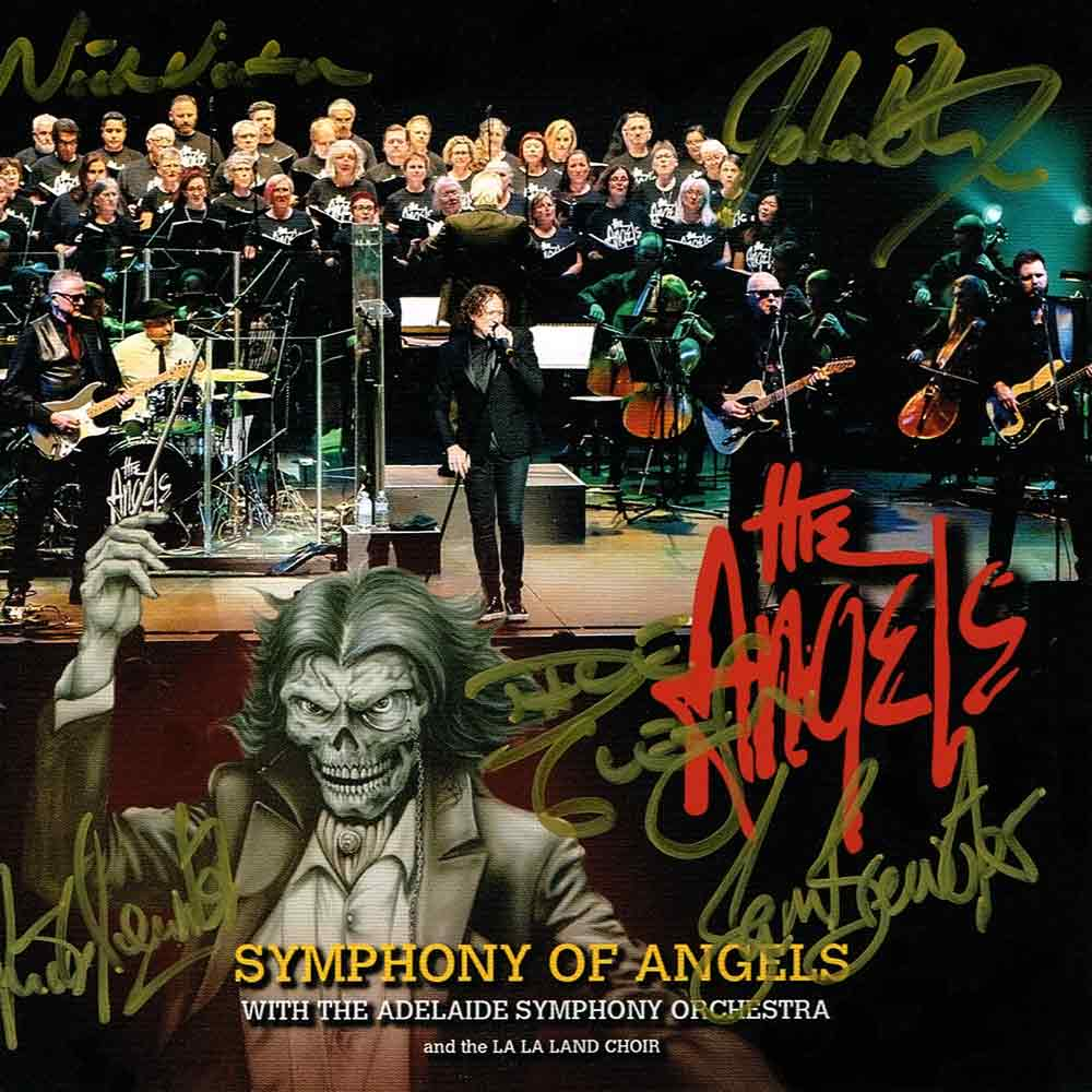 Symphony Of Angels – 2 CD Set <br/> Signed Copy – The Angels