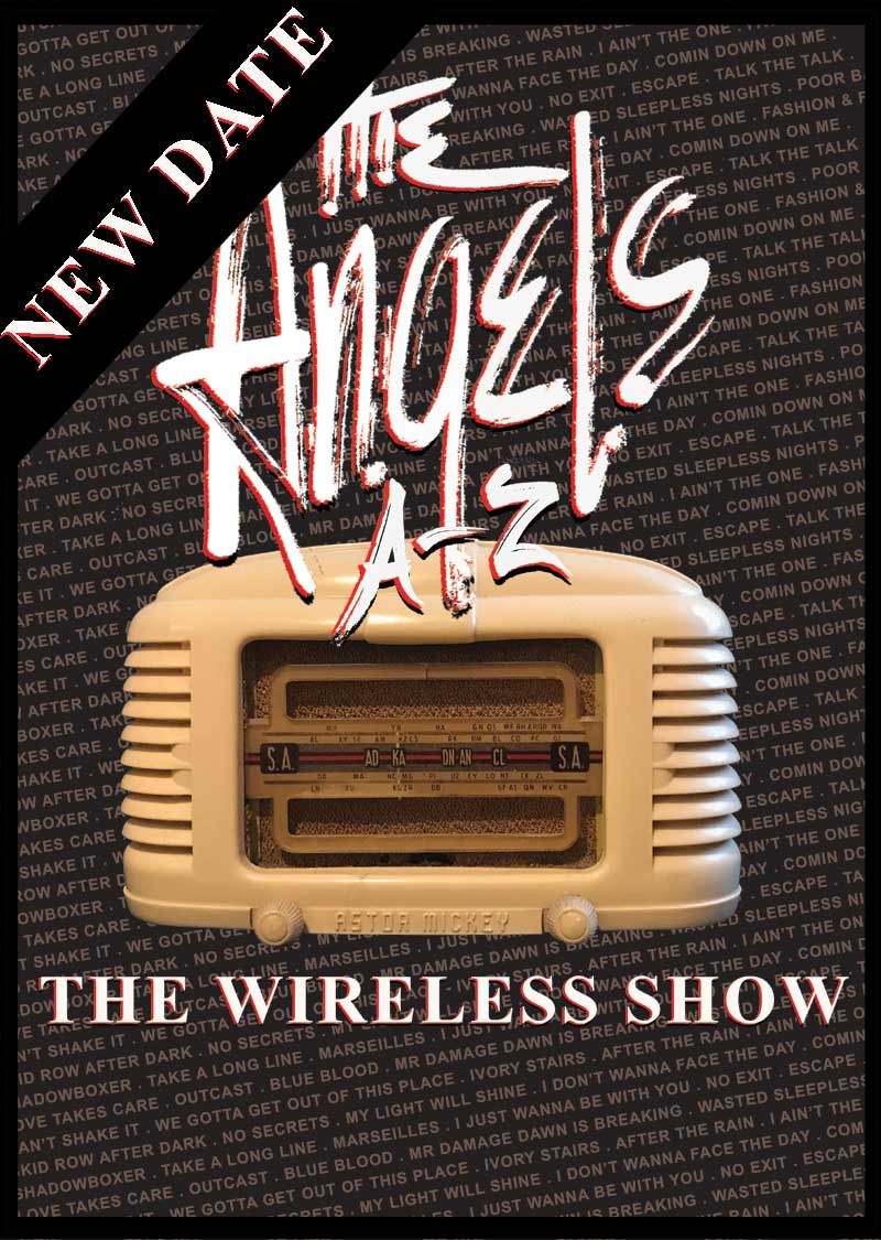 The Wireless Show – A-Z – Live Gig – NEW DATE