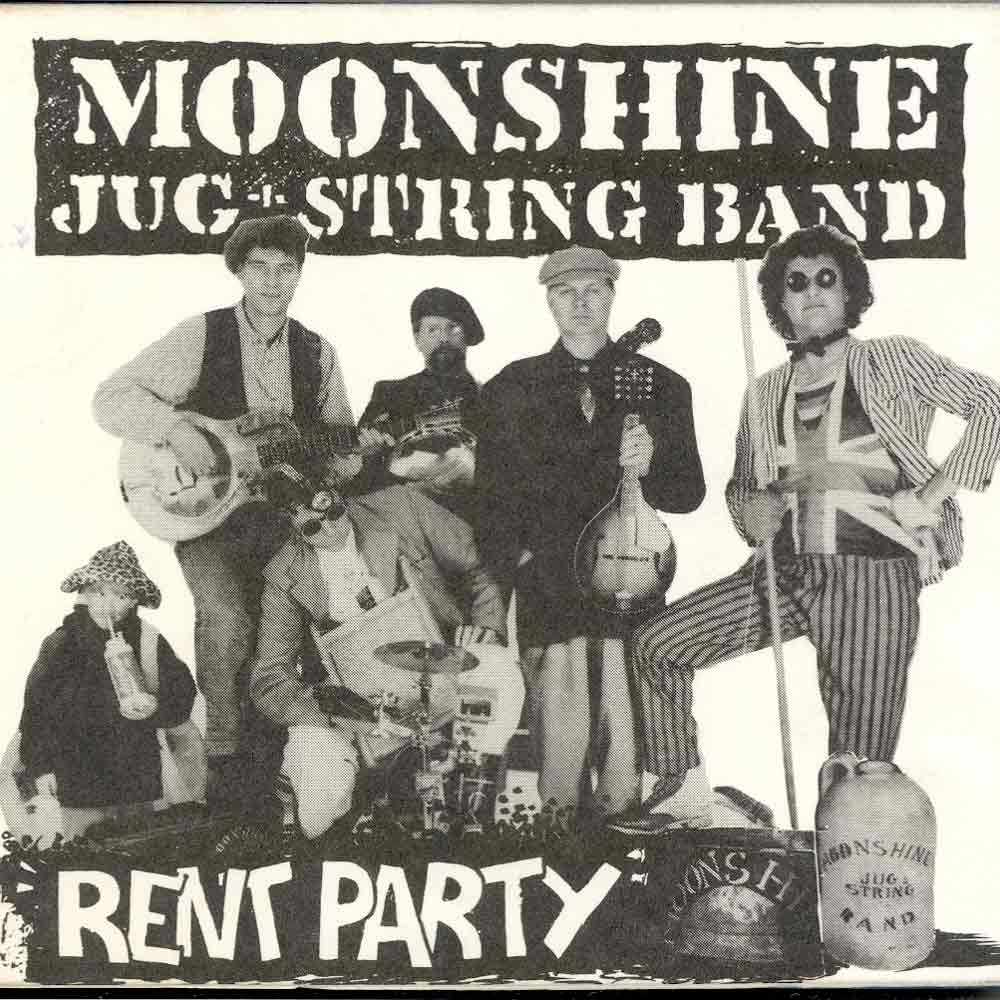 Rent Party – CD <br/> Moonshine Jug & String Band <br/>The band that became The Angels