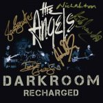 The Angels – Darkroom – Recharged – Album – Front Cover – Signed