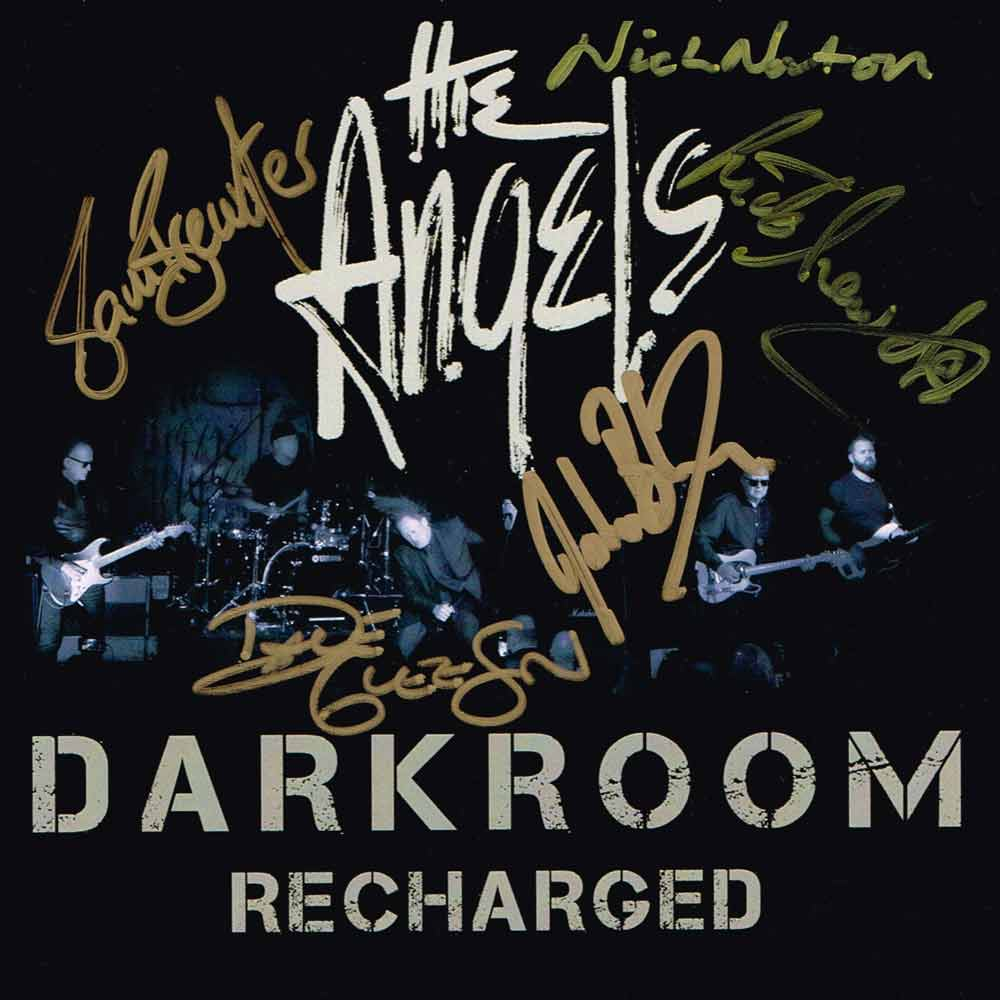 Darkroom – Recharged – 2 CD Set <br/> Signed Copy – The Angels