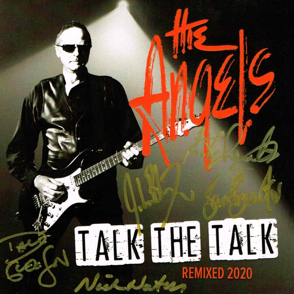 Talk The Talk – CD <br/> Remixed 2020 <br/> Signed Copy – The Angels