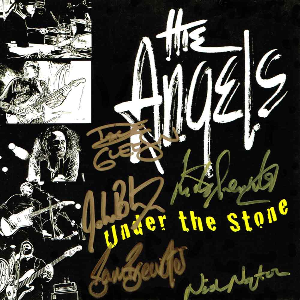 Under The Stone – EP – CD <br/> Signed Copy – The Angels