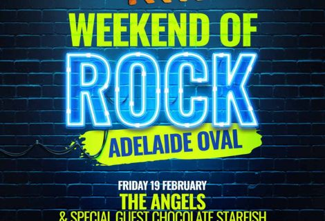 Adelaide Weekend Of Rock Kicks Off With The Angels & Chocolate Starfish