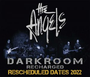 The Angels - Darkroom Recharged Tour - Rescheduled Dates - 2022 - Poster Tile