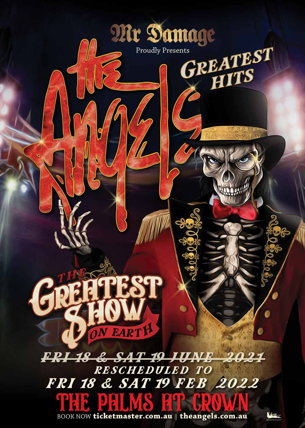Rescheduled – The Greatest Show On Earth – Greatest Hits