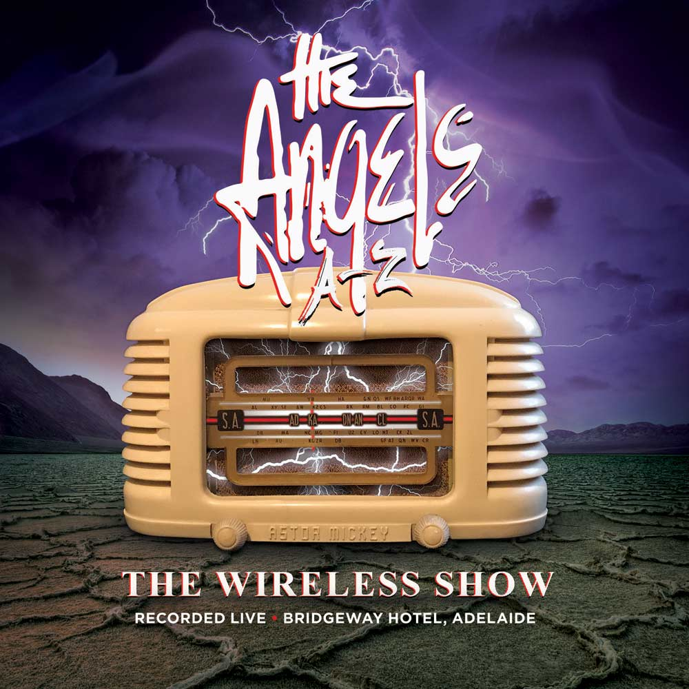 The Wireless Show – 2 CD Set <br/> Live From The Bridgeway Hotel <br/>The Angels