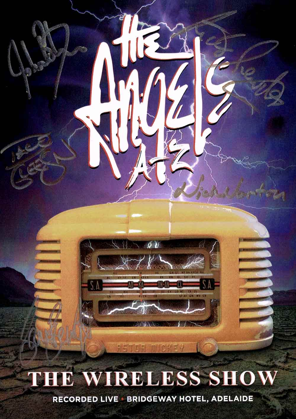 The Wireless Show – DVD <br/> Live From The Bridgeway Hotel <br/>Signed Copy – The Angels